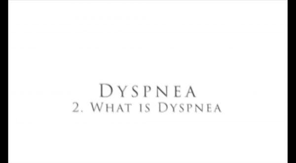Video: What is dyspnea?