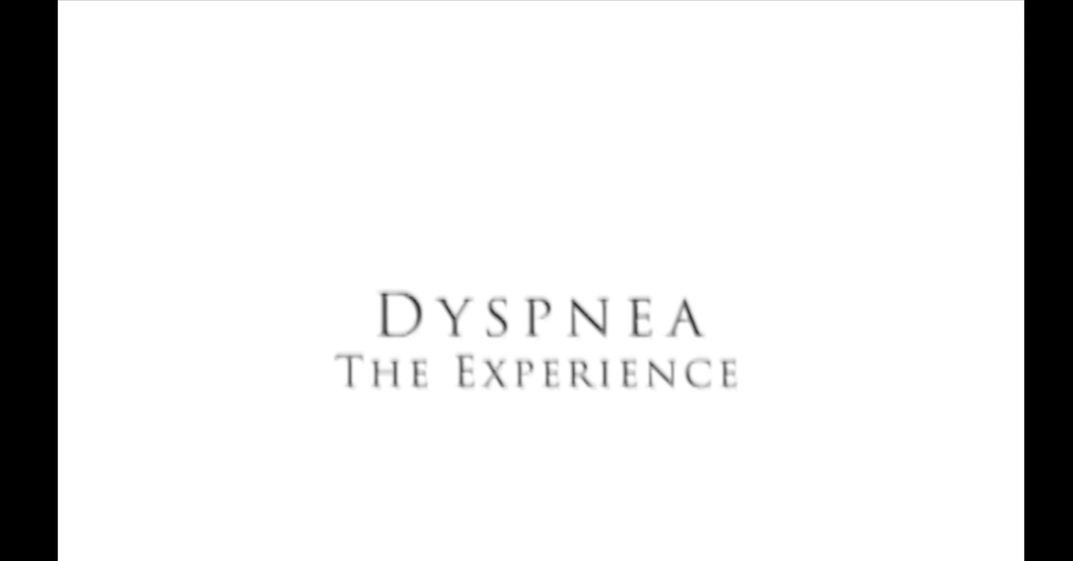 Video: Dyspnea - The Experience